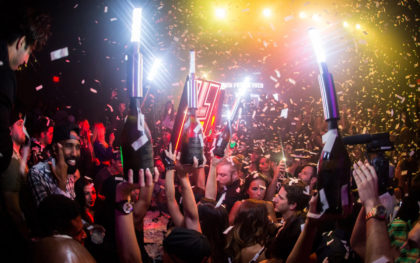 The night clubs in Los Angeles for bottle service.